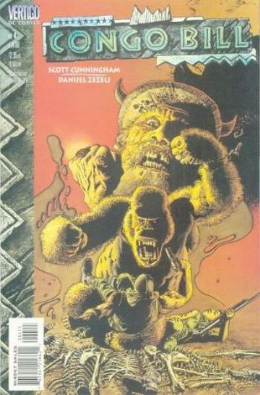 Cover of Congo Bill (1999 Ltd) #4. One of 250,000 Vintage American Comics on sale from Krypton!