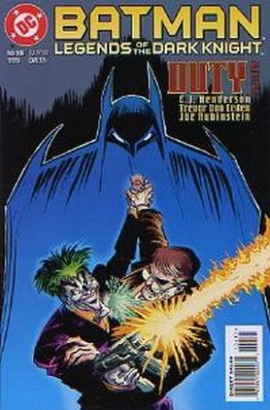 Cover of Batman: Legends of the Dark Knight #106. One of 250,000 Vintage American Comics on sale from Krypton!