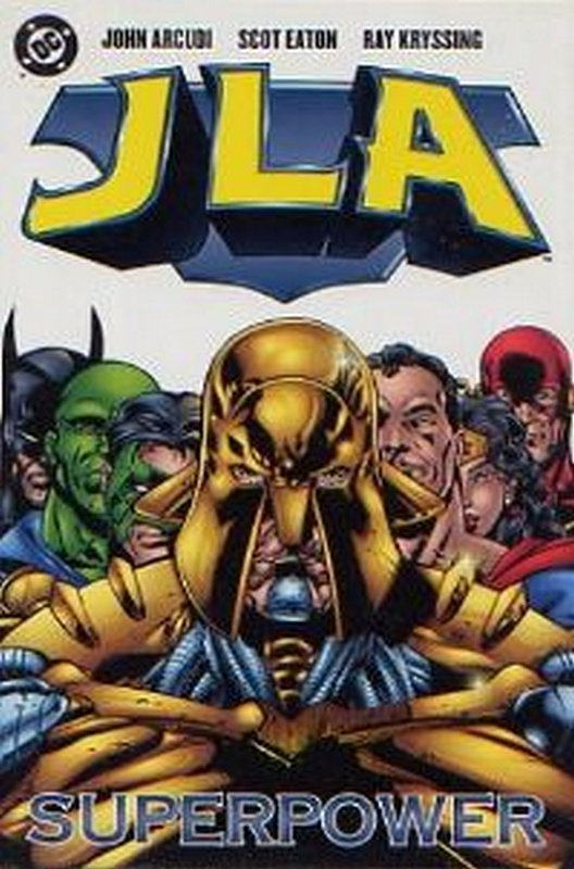 Cover of JLA Superpower (1999 One Shot) #1. One of 250,000 Vintage American Comics on sale from Krypton!