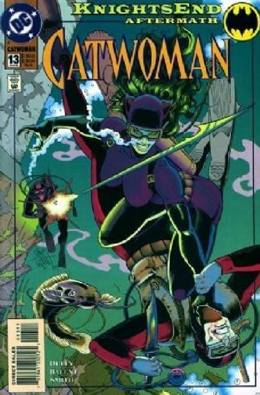 Cover of Catwoman (Vol 1) #13. One of 250,000 Vintage American Comics on sale from Krypton!