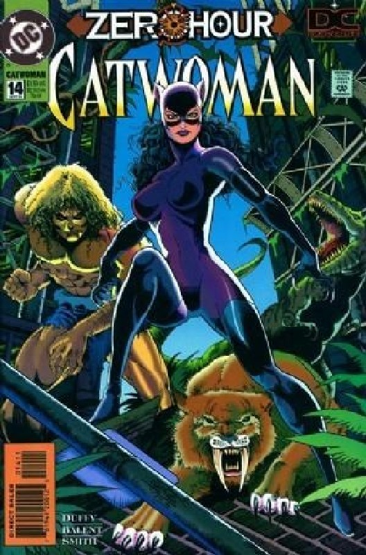 Cover of Catwoman (Vol 1) #14. One of 250,000 Vintage American Comics on sale from Krypton!