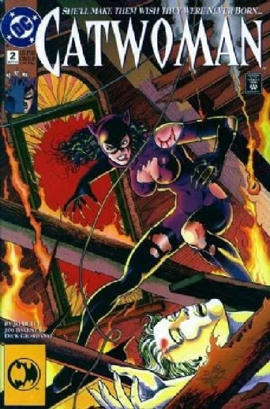 Cover of Catwoman (Vol 1) #2. One of 250,000 Vintage American Comics on sale from Krypton!