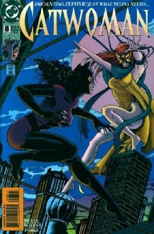 Cover of Catwoman (Vol 1) #8. One of 250,000 Vintage American Comics on sale from Krypton!