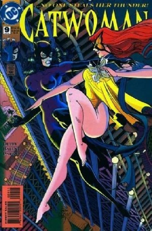 Cover of Catwoman (Vol 1) #9. One of 250,000 Vintage American Comics on sale from Krypton!