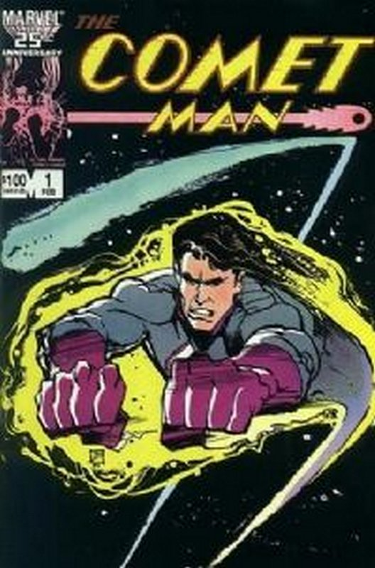 Cover of Comet Man (1986 Ltd) #1. One of 250,000 Vintage American Comics on sale from Krypton!
