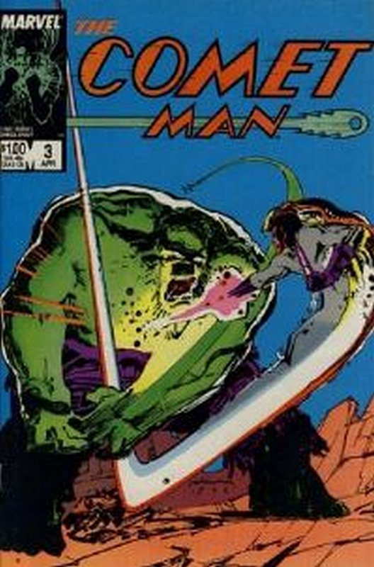 Cover of Comet Man (1986 Ltd) #3. One of 250,000 Vintage American Comics on sale from Krypton!