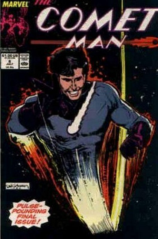 Cover of Comet Man (1986 Ltd) #6. One of 250,000 Vintage American Comics on sale from Krypton!