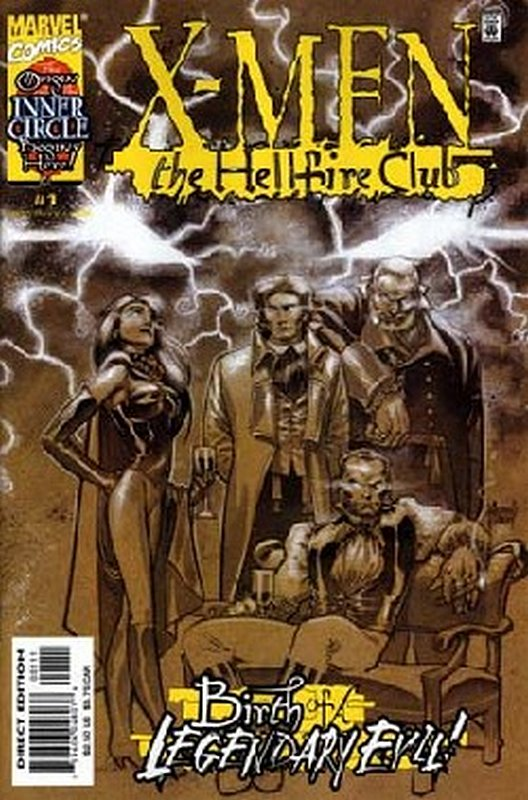 Cover of X-Men: Hellfire Club (1999 Ltd) #1. One of 250,000 Vintage American Comics on sale from Krypton!