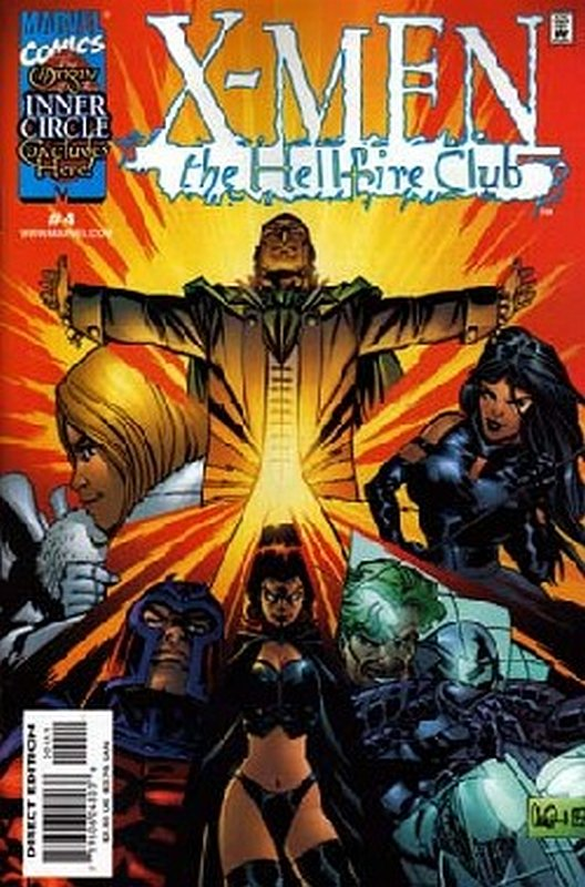 Cover of X-Men: Hellfire Club (1999 Ltd) #4. One of 250,000 Vintage American Comics on sale from Krypton!