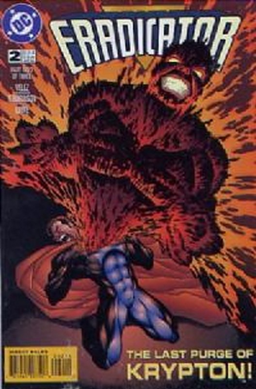 Cover of Eradicator #2. One of 250,000 Vintage American Comics on sale from Krypton!