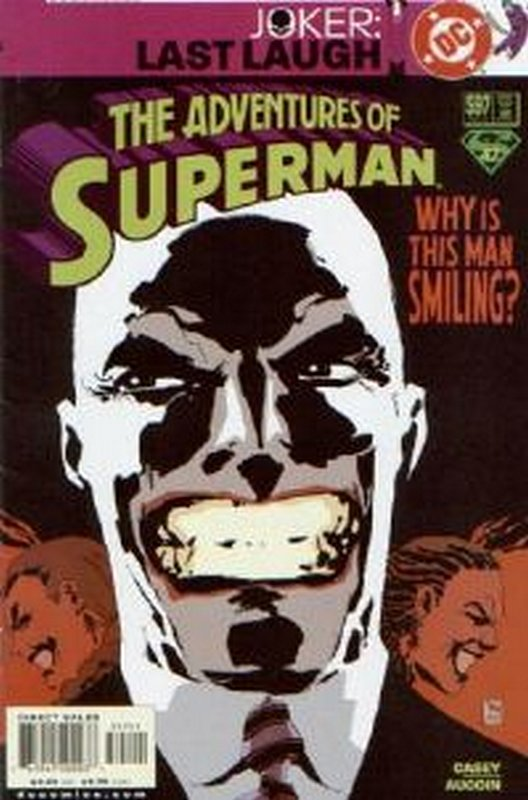 Cover of Adventures of Superman (Vol 1) #597. One of 250,000 Vintage American Comics on sale from Krypton!