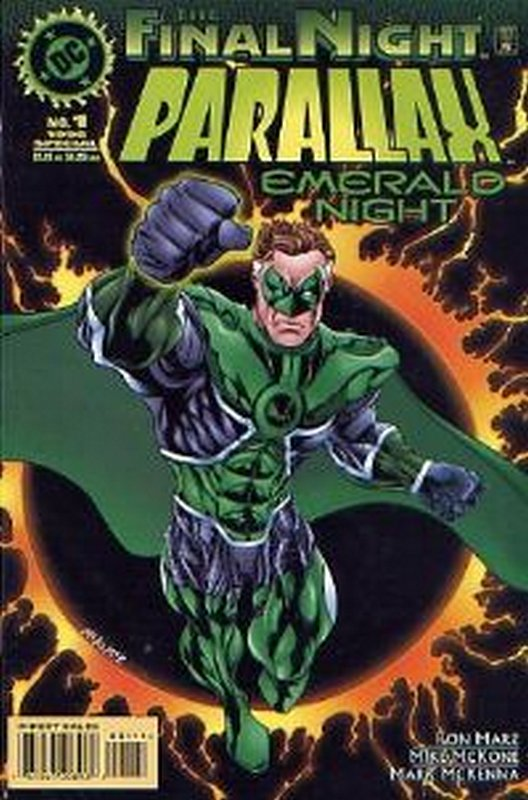 Cover of Parallax: Emerald Night (1996 One Shot) #1. One of 250,000 Vintage American Comics on sale from Krypton!