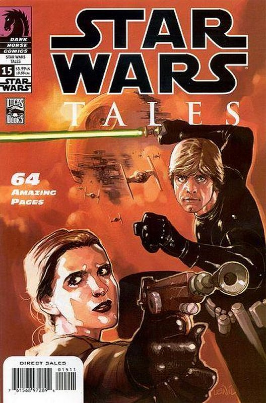 Cover of Star Wars Tales (Vol 1) #15. One of 250,000 Vintage American Comics on sale from Krypton!