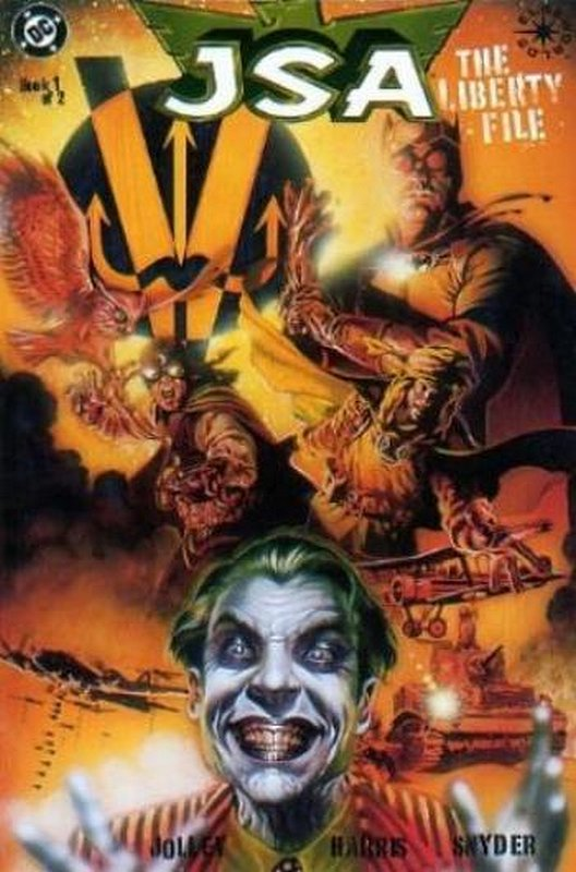 Cover of JSA: Liberty Files (1999 Ltd) #1. One of 250,000 Vintage American Comics on sale from Krypton!