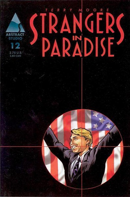 Cover of Strangers in Paradise (Vol 3) #12. One of 250,000 Vintage American Comics on sale from Krypton!
