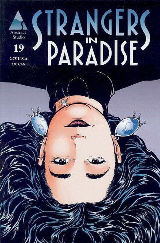 Cover of Strangers in Paradise (Vol 3) #19. One of 250,000 Vintage American Comics on sale from Krypton!