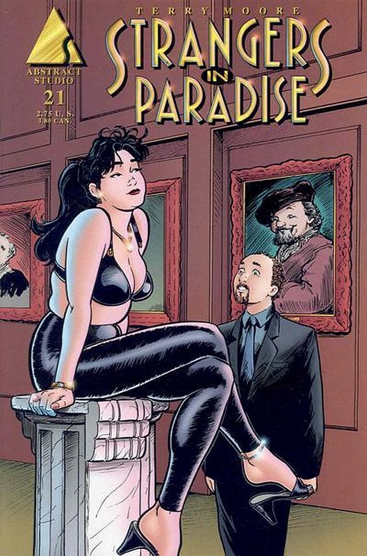 Cover of Strangers in Paradise (Vol 3) #21. One of 250,000 Vintage American Comics on sale from Krypton!