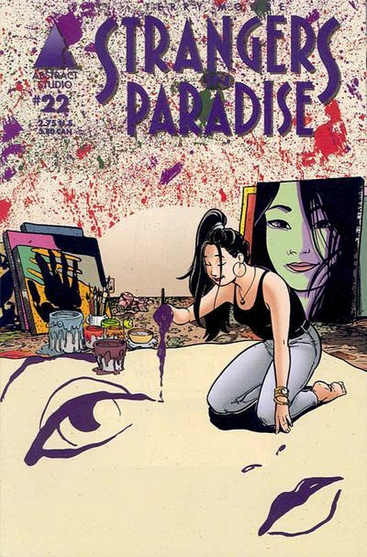 Cover of Strangers in Paradise (Vol 3) #22. One of 250,000 Vintage American Comics on sale from Krypton!