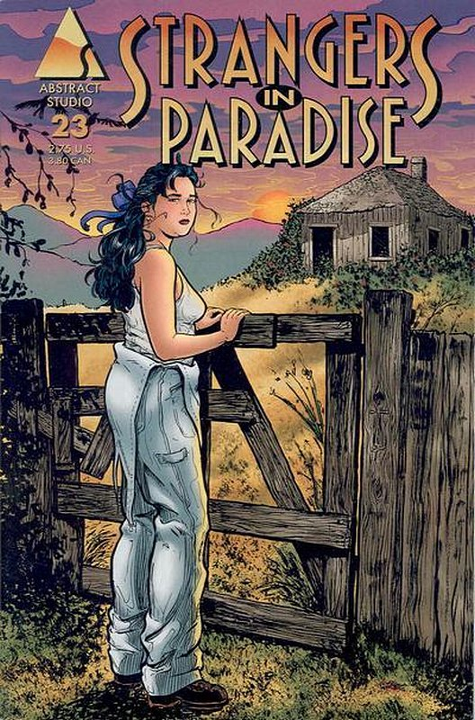 Cover of Strangers in Paradise (Vol 3) #23. One of 250,000 Vintage American Comics on sale from Krypton!