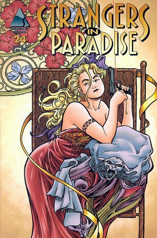 Cover of Strangers in Paradise (Vol 3) #24. One of 250,000 Vintage American Comics on sale from Krypton!