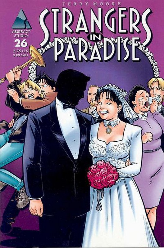 Cover of Strangers in Paradise (Vol 3) #26. One of 250,000 Vintage American Comics on sale from Krypton!