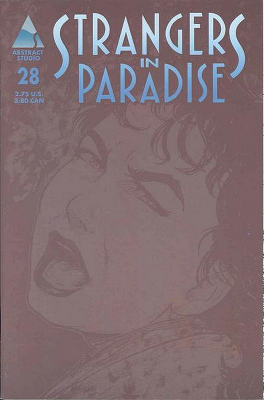 Cover of Strangers in Paradise (Vol 3) #28. One of 250,000 Vintage American Comics on sale from Krypton!