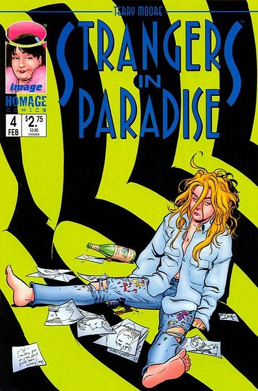 Cover of Strangers in Paradise (Vol 3) #4. One of 250,000 Vintage American Comics on sale from Krypton!