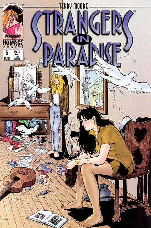 Cover of Strangers in Paradise (Vol 3) #5. One of 250,000 Vintage American Comics on sale from Krypton!
