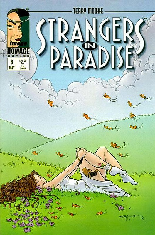 Cover of Strangers in Paradise (Vol 3) #6. One of 250,000 Vintage American Comics on sale from Krypton!