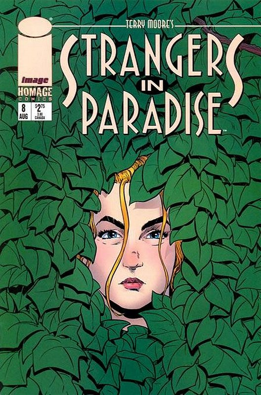 Cover of Strangers in Paradise (Vol 3) #8. One of 250,000 Vintage American Comics on sale from Krypton!