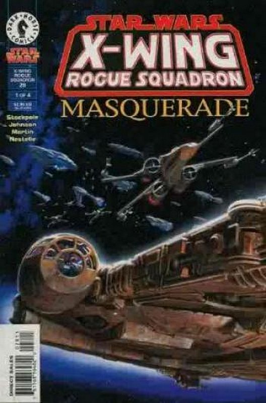 Cover of Star Wars: X-W Squadron-Masquerade #1. One of 250,000 Vintage American Comics on sale from Krypton!