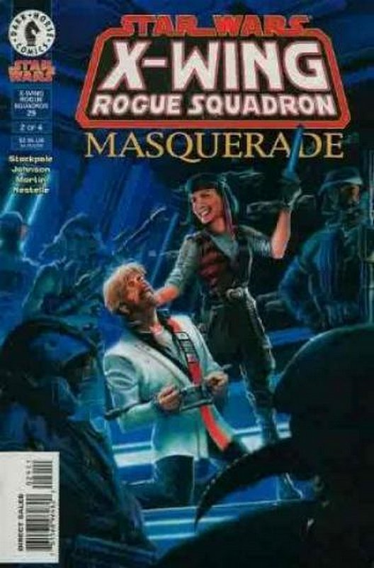 Cover of Star Wars: X-W Squadron-Masquerade #2. One of 250,000 Vintage American Comics on sale from Krypton!