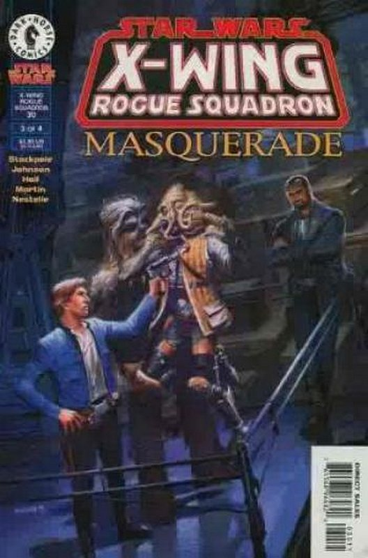 Cover of Star Wars: X-W Squadron-Masquerade #3. One of 250,000 Vintage American Comics on sale from Krypton!