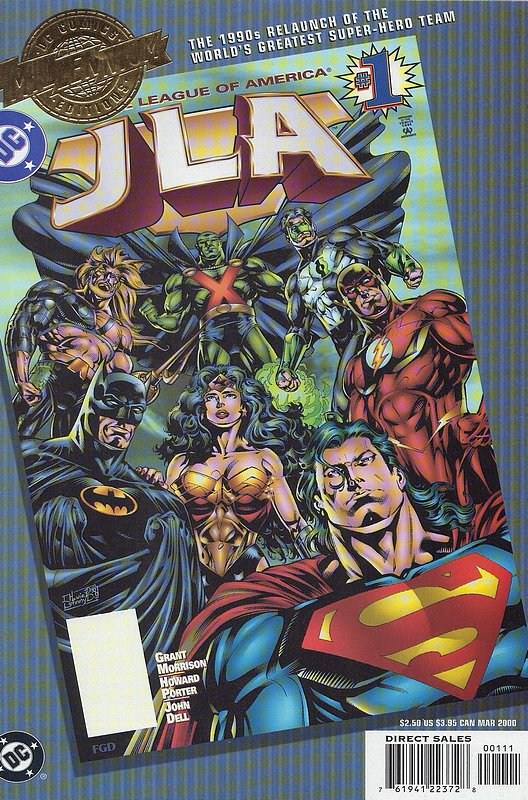 Cover of JLA Millennium Edition #1 #1. One of 250,000 Vintage American Comics on sale from Krypton!