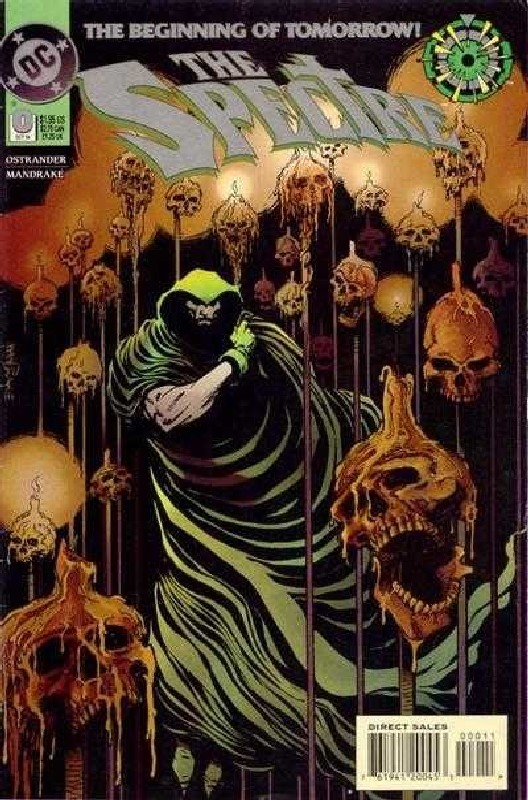 Cover of Spectre (Vol 3) #0. One of 250,000 Vintage American Comics on sale from Krypton!
