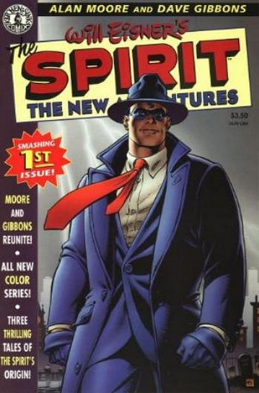 Cover of Spirit: The New Adventures (Vol 1) #1. One of 250,000 Vintage American Comics on sale from Krypton!
