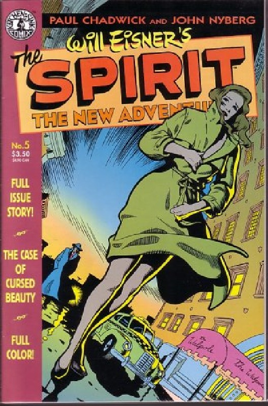 Cover of Spirit: The New Adventures (Vol 1) #5. One of 250,000 Vintage American Comics on sale from Krypton!