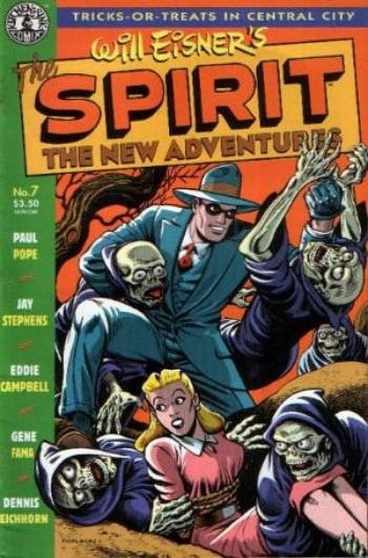 Cover of Spirit: The New Adventures (Vol 1) #7. One of 250,000 Vintage American Comics on sale from Krypton!