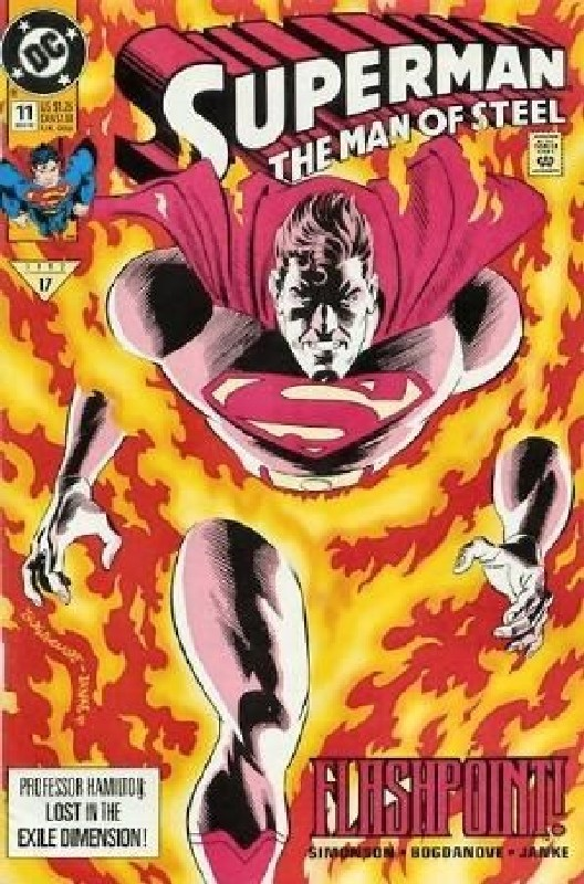 Cover of Superman: Man of Steel (Vol 1) #11. One of 250,000 Vintage American Comics on sale from Krypton!