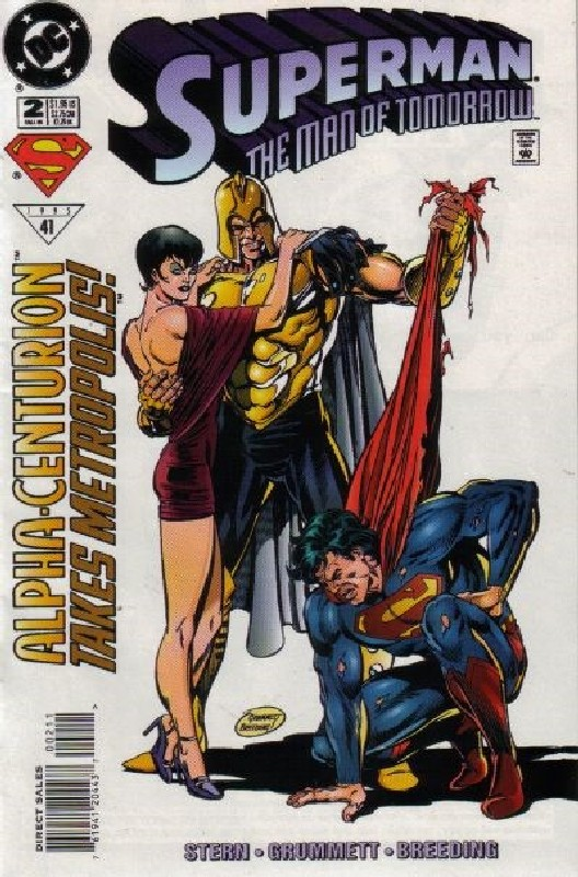 Cover of Superman: Man of Tomorrow (Vol 1) #2. One of 250,000 Vintage American Comics on sale from Krypton!