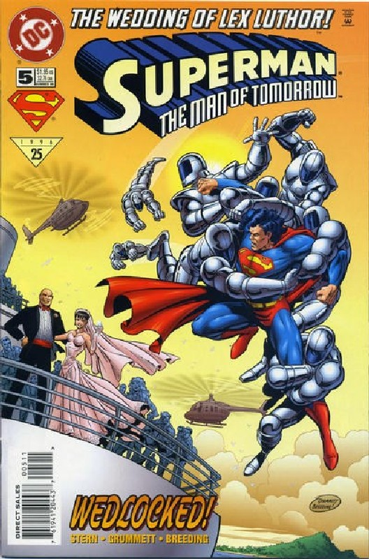 Cover of Superman: Man of Tomorrow (Vol 1) #5. One of 250,000 Vintage American Comics on sale from Krypton!