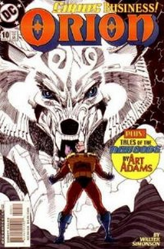 Cover of Orion (Vol 1) #10. One of 250,000 Vintage American Comics on sale from Krypton!
