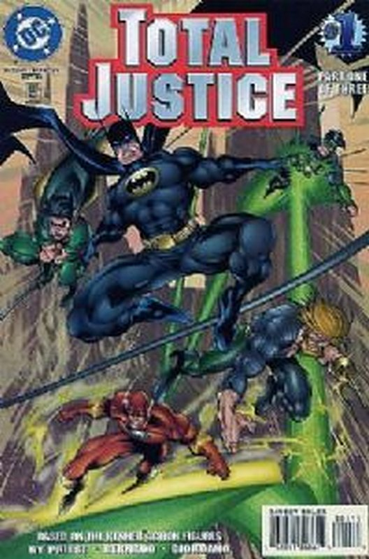 Cover of Total Justice (1996 Ltd) #1. One of 250,000 Vintage American Comics on sale from Krypton!