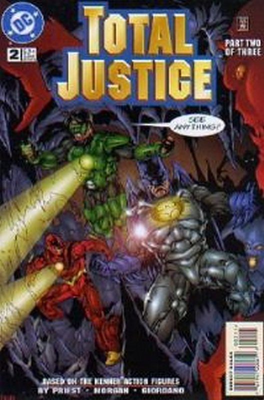 Cover of Total Justice (1996 Ltd) #2. One of 250,000 Vintage American Comics on sale from Krypton!