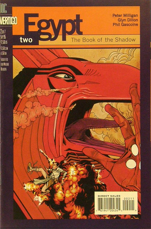 Cover of Egypt (1996 Ltd) #2. One of 250,000 Vintage American Comics on sale from Krypton!
