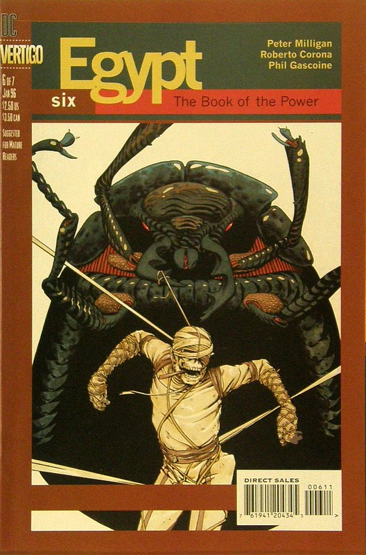 Cover of Egypt (1996 Ltd) #6. One of 250,000 Vintage American Comics on sale from Krypton!