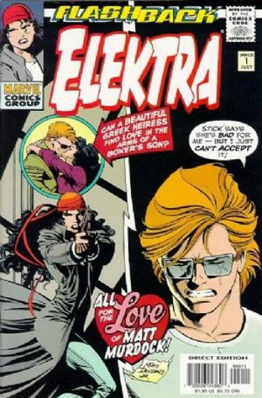 Cover of Elektra (Vol 1) #-1. One of 250,000 Vintage American Comics on sale from Krypton!