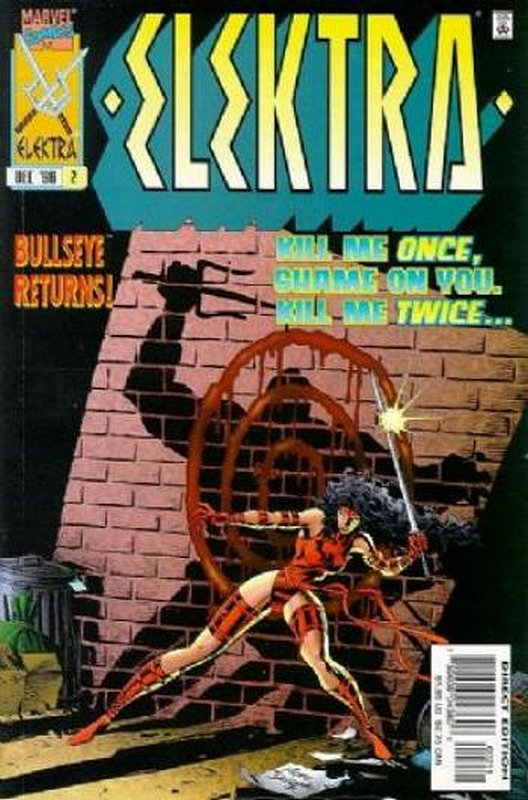 Cover of Elektra (Vol 1) #2. One of 250,000 Vintage American Comics on sale from Krypton!