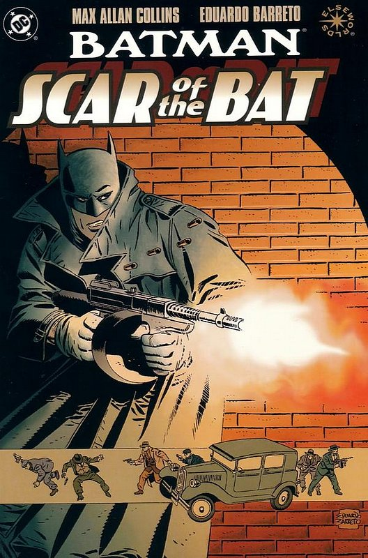 Cover of Batman: Scar of the Bat (1996 One Shot) #1. One of 250,000 Vintage American Comics on sale from Krypton!