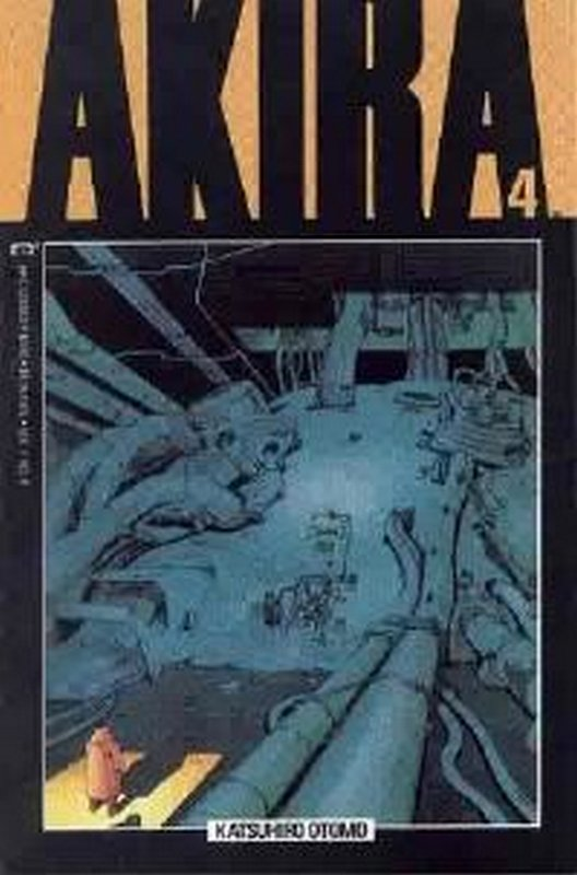 Cover of Akira (Vol 1) #4. One of 250,000 Vintage American Comics on sale from Krypton!